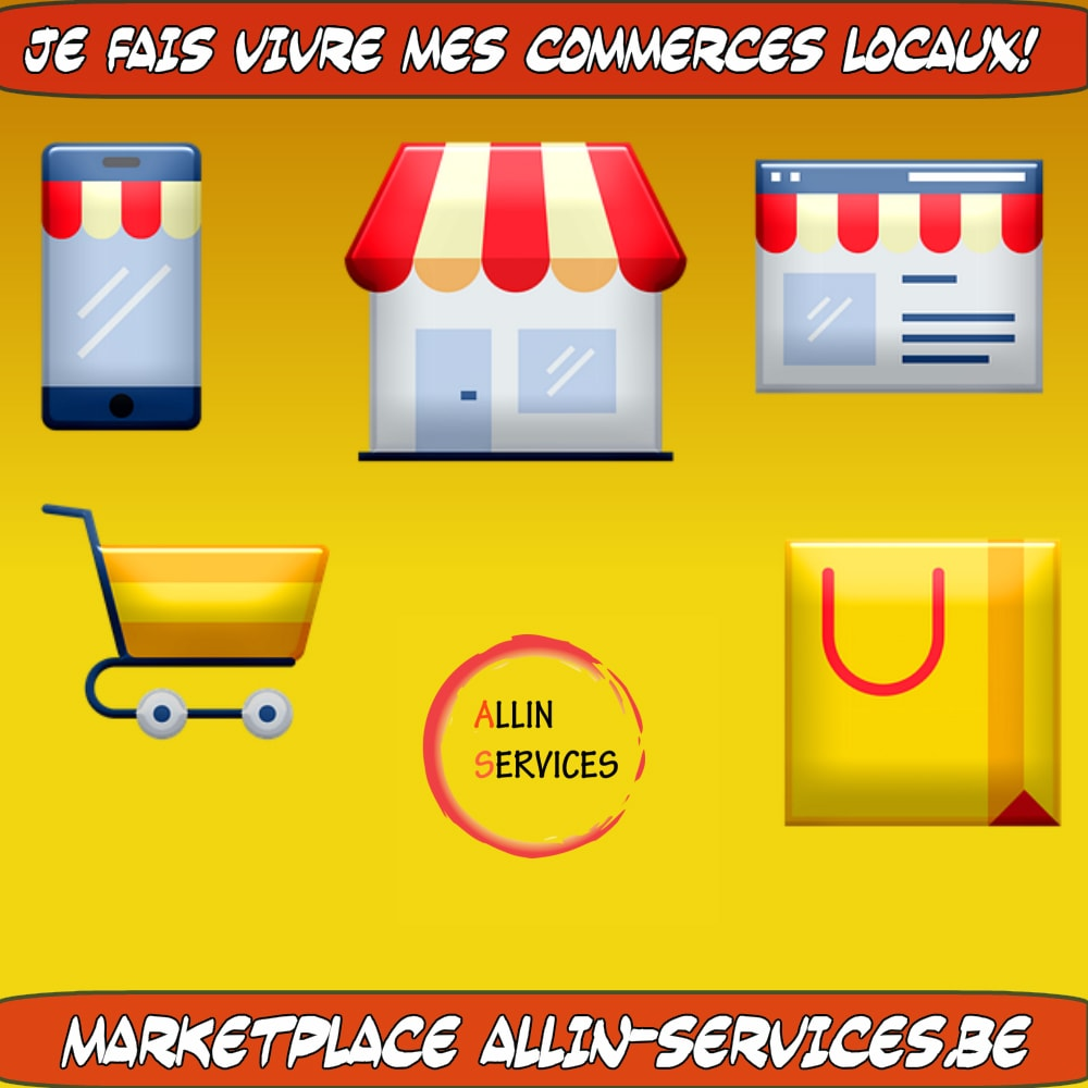 ALLIN-SERVICE : la solution express pour booster le commerce local
